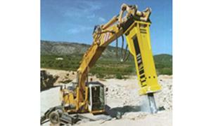 Escavadeiras Martelo hidráulico